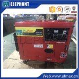 генератор 5kw 6.25kVA портативный тепловозный для бытовых приборов