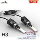 IP68タービン極度の小型H3車LEDのフォグランプ