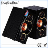 2,0 Bluetooth Multi Function laptop computer rear-Fi Speakers in Wood (XH-PS-698)