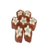 Заедк собаки цыпленка и Mealworm формы медведя мягкая