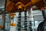 3t는 상해에서 한 트롤리 유형 전기 체인 호이스트를 - 자동화했다