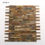 Mosaico decorativo del vidrio manchado del arte del diseño del corte de la mano para la pared