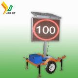 Reboque solar do diodo emissor de luz Vms do indicador móvel de Shenzhen para o controlo de tráfico