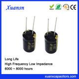 13*25 de radiale Elektrolytische 105c 1000UF 50V Condensator van het Lood