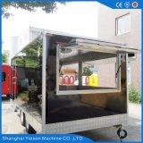 Cozinha de alta qualidade 100% Street Trailer Alimentar Peso Máximo 1200 kg Carrinho