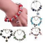 De mensen vormen de Kleurrijke Juwelen van de Armband van de Gift van de Parel Veerkrachtige