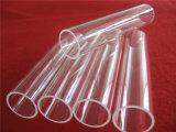 Tube de verre UV de vente chaud de quartz de bloc