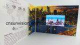 """cartão video do encarregado do envio da correspondência do folheto do LCD da tela de 4.3 """" IPS"""