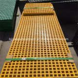 Самое низкое цена GRP Pultruded скрежеща решетку Мини-Сетки FRP
