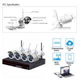 Intelligenter drahtloser NVR Installationssatz des Ausgangs4ch P2p 2.4G