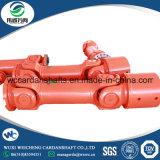 Diseño de eje cardánico SWC acoplamiento con el eje