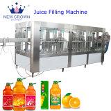 CIPのリサイクリング・システムが付いているフルーツジュースの飲料の充填機