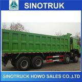 12 Diesel HOWO Sinotruk Wheeler 40tonne pour la vente de camion à benne