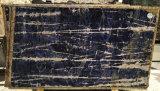 Синий Sodalite Quartzite полированной плитки&слоев REST&место на кухонном столе