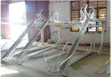 Heiße galvanisierte zwei Decker-Fahrrad-Speicher-Zahnstangen-Doppelt-Reihe-Fahrrad-Bildschirmanzeige-Zahnstange