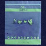 Sac de plastique à fermeture éclair en PEBD Grip Sac de joint