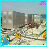 水処理のための正方形によって溶接されるステンレス鋼水貯蔵タンク