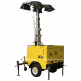 Type de remorque hydrauliques mobiles fabricant de la tour lumineuse