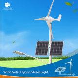 Indicatore luminoso di via solare dell'ibrido LED del vento delle palette della turbina del fornitore Ce/RoHS/FCC