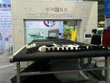 Maquinaria da estaca da esponja do contorno do CNC da HK com faca do anel