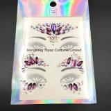Один комплект 2 шт органа Jewel наклейку глаза на наклейке временный персонал общего назначения с татуировкой на наклейке на фестиваль (SR-34)