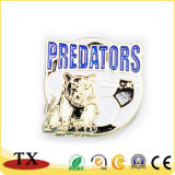 Kundenspezifisches Metallpolizei-Abzeichen mit MetallreversPin (TXG125/197)