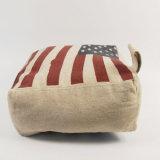 En71 стандартных постельное белье Cutomised старинной США Дизайн флага ткань упор двери