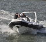 Liya 16person Fiberglas-Rumpf-Militärgummiboote mit Motoren