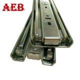Manica telescopica 51mm resistente del cassetto della guida della trasparenza del cassetto con acciaio laminato a freddo