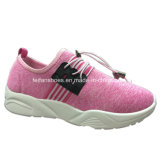 High quality Canvas Injection Shoes Casual Footwear Shoes Women (YJ1216-7)