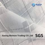 tessuto di cotone di massima della seta 95% di griglia 5% del collegare di 12.5mm