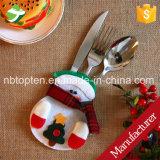 Cuchillo y fork de la Navidad de Pirce de la fábrica fijados/la Navidad