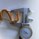 Крюк сформированный s алюминиевого сплава кнопки/Carabiner