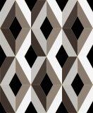 Papel de parede barato do vinil do projeto moderno 3D do PVC Waperproof Wallcovering do preço para a decoração interior