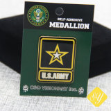 Custom Metal Army Short prop Pine Badge for Promotion