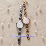Polshorloges van de Manier van het Horloge van het Kwarts van het Embleem van de douane de Zwitserse voor Paar (wy-17001E)