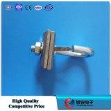 Crochet de fentes de l'acier inoxydable deux pour FTTH