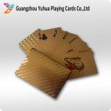 Карточки Foid изготовленный на заказ золота играя карточки играя