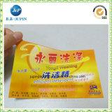 De aangepaste Glanzende Etiketten van de Sticker van het Document Zelfklevende (JP-S065)
