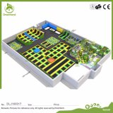 Kurs-Trampoline-Spitzenpark China-kundenspezifischer InnenNinja mit TUV-Bescheinigung