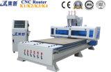 máquina para trabalhar madeira Router CNC com o fuso 3