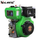 Motor diesel con el eje y el filtro de aire doble del baño del petróleo (HR188FA) de la chavetera