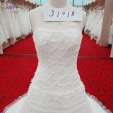Лифа маштабов рыб платья венчания юбки шнурка Romatic мантия кругового Bridal