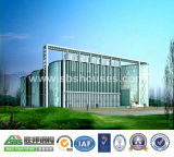 Immeuble de bureau de structure métallique avec les étages multi