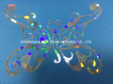 Transfert thermique de galvanoplastie non élastique