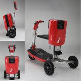 Scooter électrique de mobilité de roues en gros du rouge trois