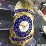 La polizia militare del metallo su ordinazione della fabbrica Badge