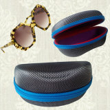 De forma personalizada Zipper Saco para óculos de disco EVA óculos portátil caso com gancho
