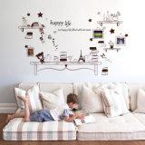 Autoadesivi smontabili del vinile della decorazione di arte della casa dell'albero del blocco per grafici della foto del grande della parete autoadesivo DIY della decalcomania