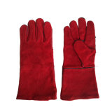 14inch Red Cow fractionner le travail du cuir Gants Gant de sécurité en cuir des gants de soudure